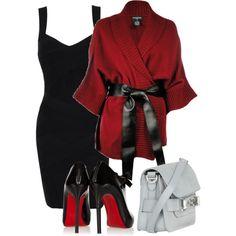 Cardigan kimono, created by rko4eve on Polyvore