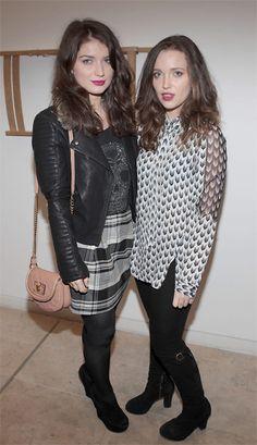Eve and Jordan Hewson daughters of Paul Hewson aka Bono