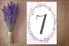 The most beautiful and unique wedding invitations, RSVP cards, and other wedding stationery available in Ireland, the UK and worldwide. Framed Table Numbers, Wedding Table Numbers, Unique Wedding Invitations, Wedding Stationery, Rsvp, Lilac, Most Beautiful, Wedding Inspiration, Hair Accessories