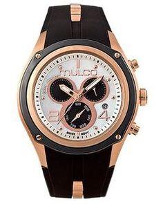 Mulco MW1-29902-021 Bluemarine Collection black chronograph watch