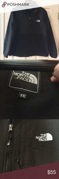 NWOT!  North Face Zip Up Jacket Tag Black North Face Jacket.  Brand-new, never worn.  NWOT! Tag says XXL but fits like an XL The North Face Jackets & Coats