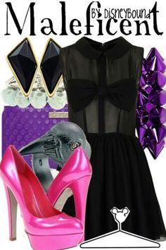 #Disneybound #Maleficent #fashion