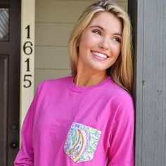 Customize your pocket tee online today  #FraternityCollection #PocketTee