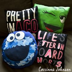 Teens For Crafts: How To Make A T-Shirt Pillow