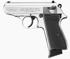 Walther PPK/S in .22 LR ML: Small, 22 call, precise, and 007 aproved! Good defense/bugout concealed weapon.