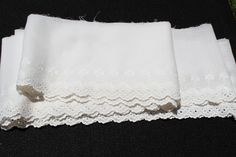 """156""""  (4+) yds Embroidered Eyelet Lace Trim/Edging L10 by EBMNewhaven on Etsy"""