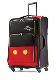 0d6086b273 American Tourister 28-In. Mickey Mouse Pants Softside Spinner - Multi - 28  In.