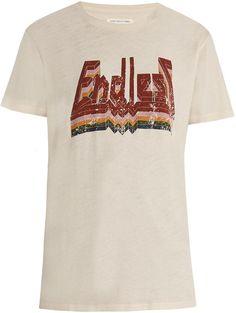 ISABEL MARANT ÉTOILE Dewel cotton-jersey T-shirt