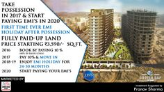 """First Time Ever 'EMI' Holiday After Possession""""  Beetle Lap offers luxurious and spacious 2 & 3 BHK modern residences with all needed amenities and daily conveniences, its an exhilarating residential destination located at just off the Yamuna Expressway and eastern peripheral expressway.  To get more information about the project, give us a call at +91 9250401940.  #realestate #BeetleLap #property #construction"""