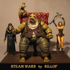 SILLOF - New pulp sci fi line SERIAL WARS and a brief recap of my older work