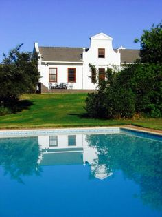Cape Dutch Architecture, South Africa Wine House, My House, Cape Dutch, Dutch House, West Indies, Dream Houses, Traditional House, Cape Town, South Africa