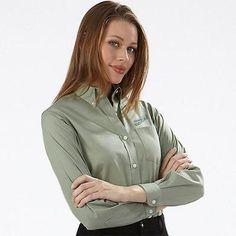 Buy custom embroidered work uniform shirts including for Embroidered work shirts no minimum order