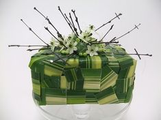 Star of Bethlehem and brussel sprout ad twig Christmas gift design