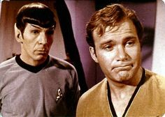 One can never have too many pictures of Kirk and Spock