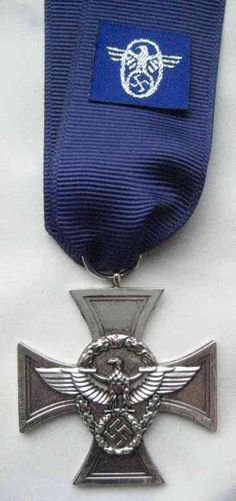   Police 18-year long service medal