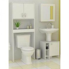 Risultati immagini per muebles para baños pequeños Toilet Storage, Small Bathroom Storage, Bathroom Design Small, Bathroom Interior Design, Bathroom Designs, Bathroom Ideas, Contemporary Living Room Furniture, Modern Furniture, Furniture Plans