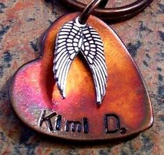 for your little angel (dog tag)