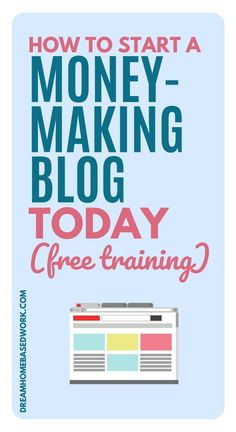 Have you been wondering how YOU among an ocean of successful bloggers can start a blog and actually make money?I'm here to tell you that YOU CAN! I'm really excited to help you achieve your blogging goal by sharing my FREE blogging series with you.This is a great new online business venture to start and it's a big learning curve. I've been where you are not having a clue and I'm here to tell you that I'm here to help! Here's how to get started! #beginnerblogger #startablog #workathome Earn Money From Home, Make Money Blogging, Way To Make Money, Make Money Online, Home Based Work, Work From Home Jobs, Make Blog, How To Start A Blog, Business Help
