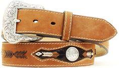 Men's Western Brown Distressed Belt with Buffalo Nickel Conchos Leather Belts, Men's Belts, Fashion Belts, Western Belts, Distressed Leather, Cowboy Boots, Buffalo, Westerns, Brown