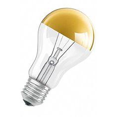 Osram Kuppenverspiegelte Lampe SPC.MIRRA GD 240V E27 Decor A gold 40W EEK: E