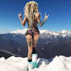 "340 Likes, 1 Comments - World Tattoo Gallery (@worldtattoogallery) on Instagram: ""#tattooedgirl #tattoomodel #inkedmodel #inkedgirl #tattoo #worldtattoogallery #wtg #tattooworld…"""