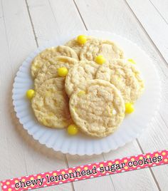 Chewy Lemonhead Sugar Cookies: Phemomenon