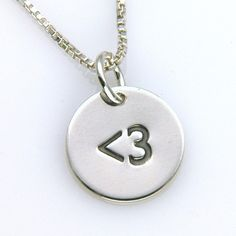 Less Than Three Heart Necklace