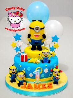 minions cake - Cerca con Google