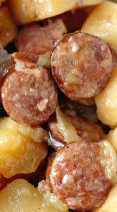 Crockpot Sausage & Potatoes                                                                                                                                                      More