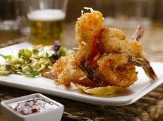 Coconut Shrimp from Duke's Chowder House in #SeattleSouthside..