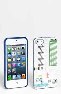 kate spade new york 'spadeville' iPhone 5 case available at #Nordstrom