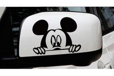 KIT ADESIVO PARA RETROVISOR MICKEY - Adesivos para Carro Femininos - Acessórios Automotivos