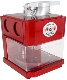 Waring SCM100 Snow Cone Maker (Metallic Red) - Home. #snowconemaker #conemaker http://shpst.ly/us375881904?pid=uid7524-1482718-77