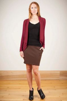 In the Fold Skirt: more colors available