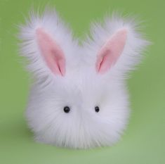 omigod i want this it's so so so cute  Cottonball the Stuffed Bunny Plushie Baby Size by Zygopsyche, $29.00                                                                                                                                                                                 More