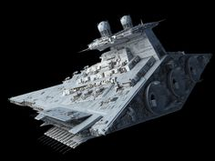Victory-class Star Destroyer by Ansel Hsiao on ArtStation. Star Wars Padme, Star Wars Rpg, Star Wars Ships, Star Trek, Star Wars Spaceships, Star Wars The Old, Capital Ship, Star Wars Vehicles, Star Wars Models