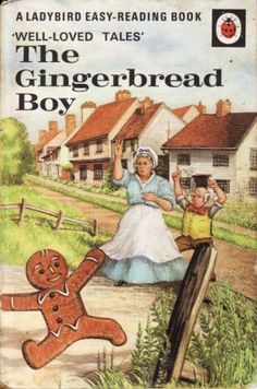 GINGERBREAD BOY Vintage Ladybird Book Well Loved Tales Series 606D Matte…