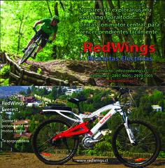 No pares de explorar en tu #bicicleta #eléctrica #Redwings Everest