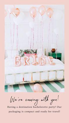 bachelorette party decorations kit bridal shower supplies bride to be sash champagne