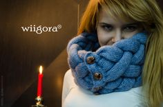 wiigora Braided Scarf Woven Cowl by Wiigora on Etsy, $140.00