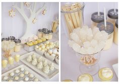 holiday dessert table by Ruby Ju