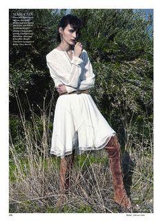 Sibui Nazarenko By Thomas Krappitz For Elle Germany February 2016