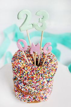 Clay cake topper DIY