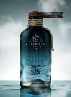 Ghost Ship Rum ~ Designed by Pavla Chuykina and Galya Akhmetzyanova ~ Country: Russia and New Zealand
