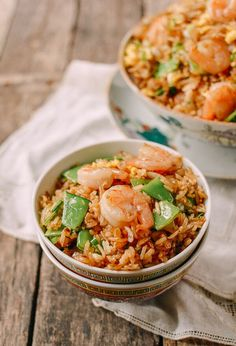 #Shrimp #Fried #Rice recipe by the Woks of Life, by http://thewoksoflife.com
