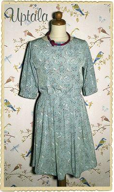 vintage style spring time dress