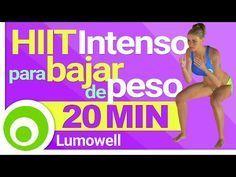 Entrenamiento HIIT Intenso de 20 Minutos para Bajar de Peso Rápido en Casa - YouTube