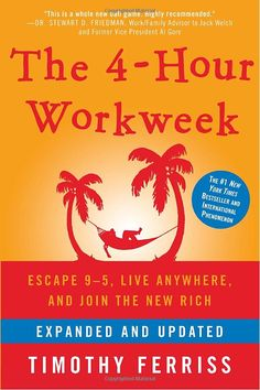 The 4-Hour Workweek, book by Timothy Ferriss. Great example of the motto 'It IS possible'.
