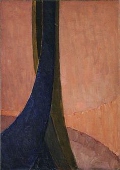 František Kupka / Vertical Planes (study) / 1912-13? (dated on painting 1911) / MoMa