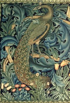 Detail from The Forest, Tapestry by William Morris and Co | JV